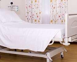 Lençol hospitalar com elástico