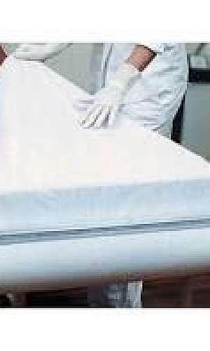Lençol de papel para maca