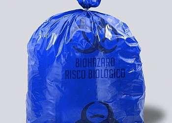 Saco para lixo infectante hospitalar