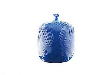 Saco hamper azul